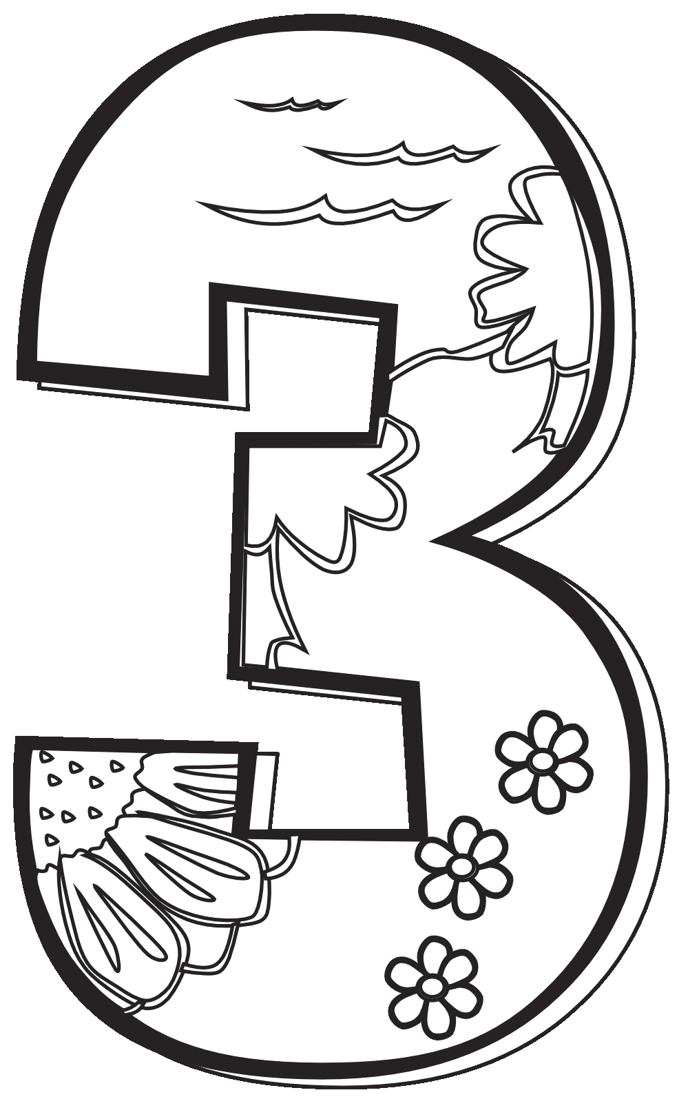 day 3 of creation coloring pages