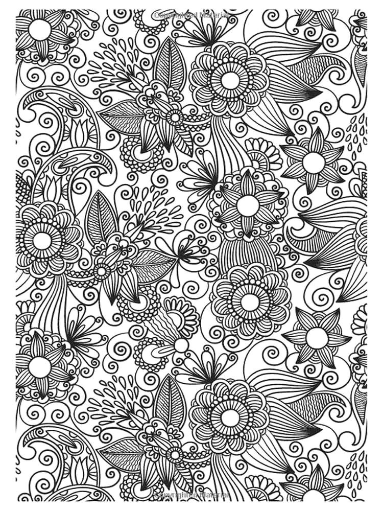 Free Printable Detailed Coloring Pages for Adults Detailed Coloring Pages for Adults Free Printable