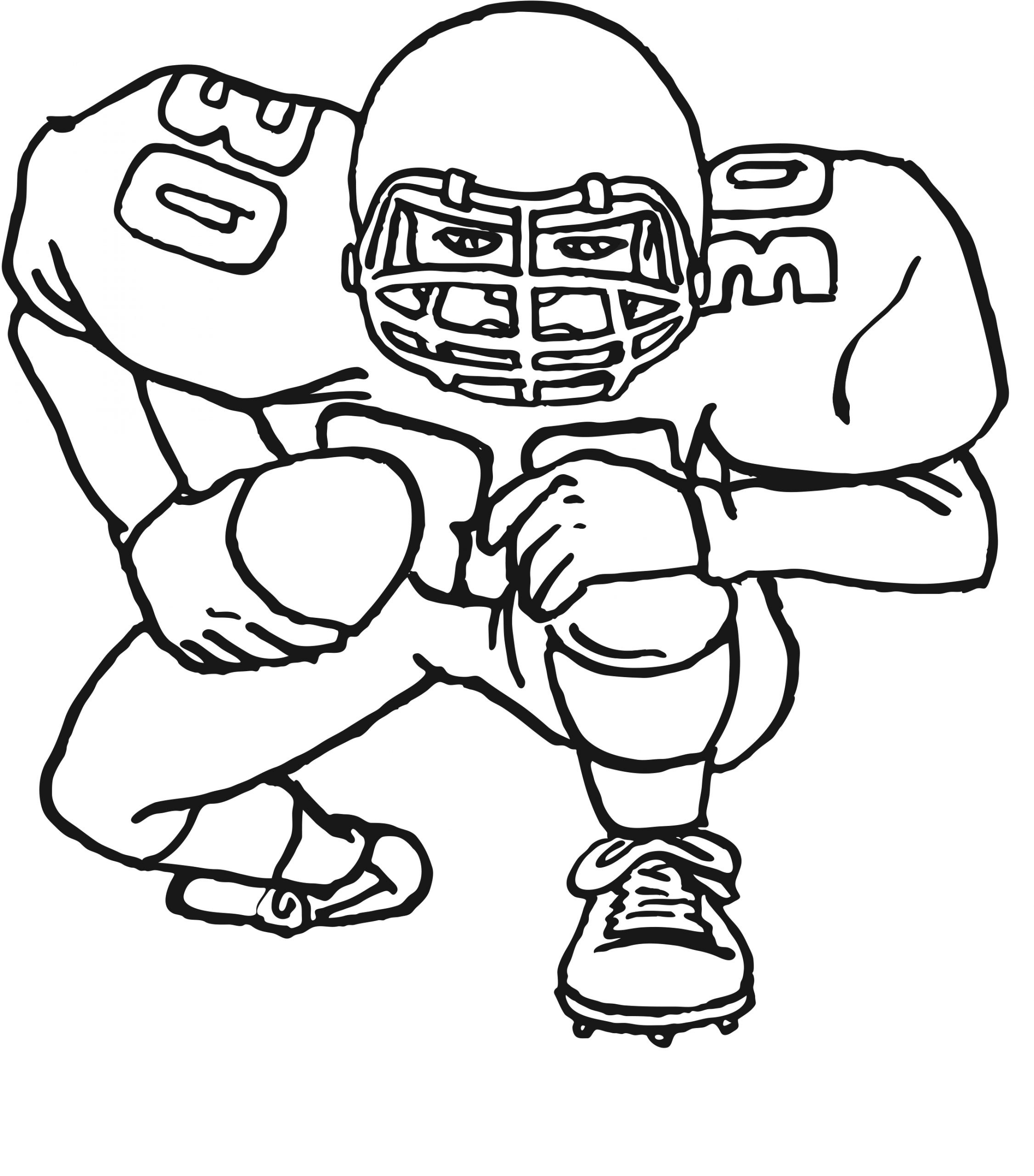 Free Printable Football Coloring Pages for Kids Free Printable Football Coloring Pages for Kids Best
