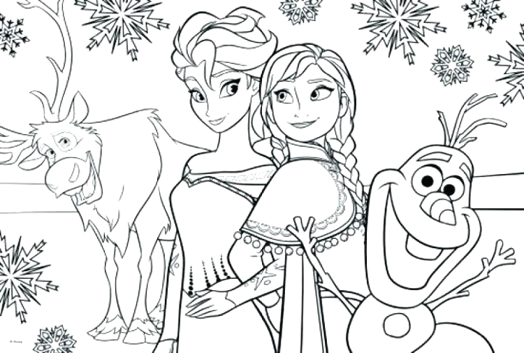 Free Printable Full Size Frozen Coloring Pages Full Size Frozen Coloring Pages