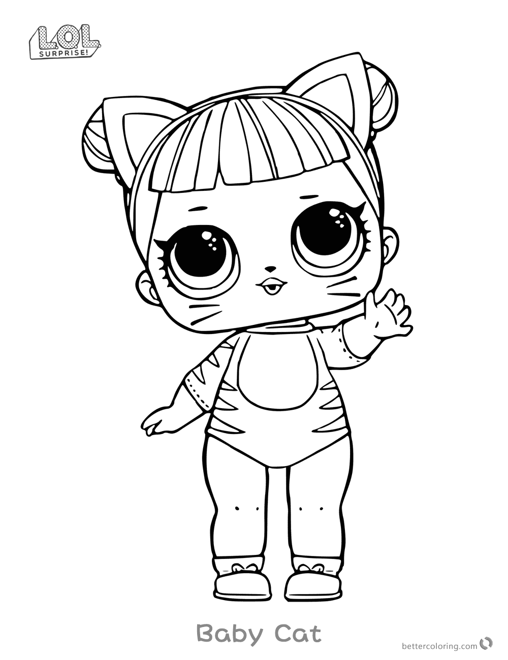 surprise doll coloring pages