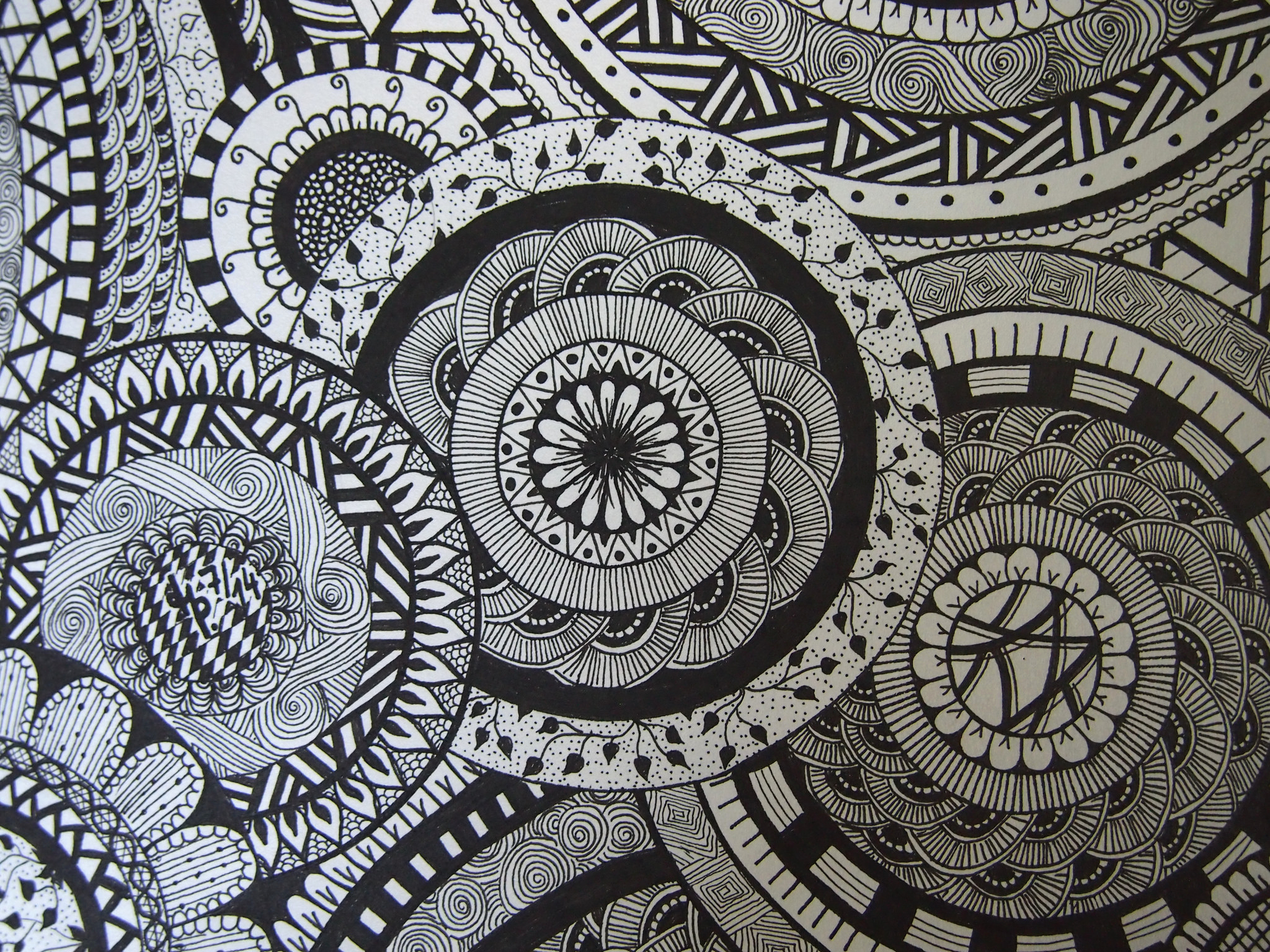 free printable zentangle coloring pages adults