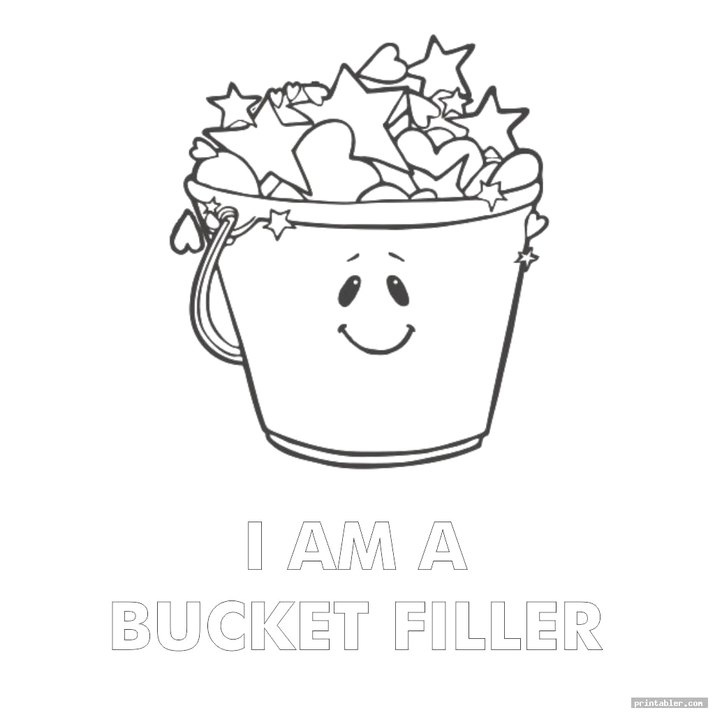 Have You Filled A Bucket today Coloring Page Have You Filled A Bucket today Coloring Page Printable