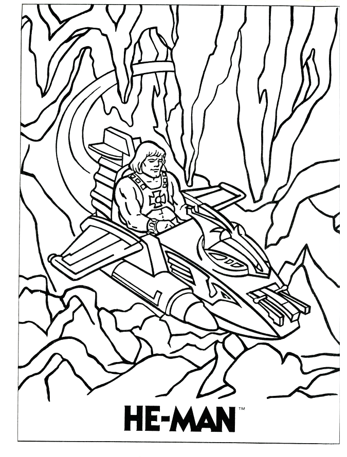 He Man and the Masters Of the Universe Coloring Pages He Man and the Masters Of the Universe Coloring Pages