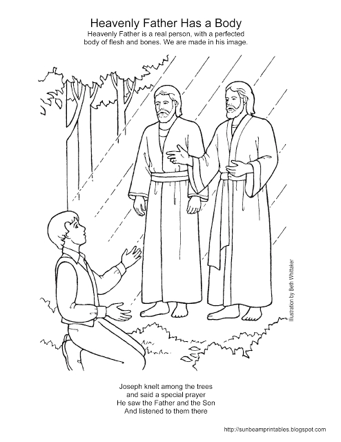 Heavenly Father Has A Body Coloring Page Love Me Jesus and Heavenly Father Coloring Page