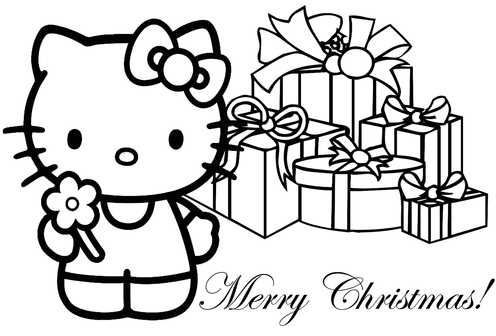 Hello Kitty Christmas Coloring Pages to Print Interactive Magazine Hello Kitty Christmas Coloring Sheets