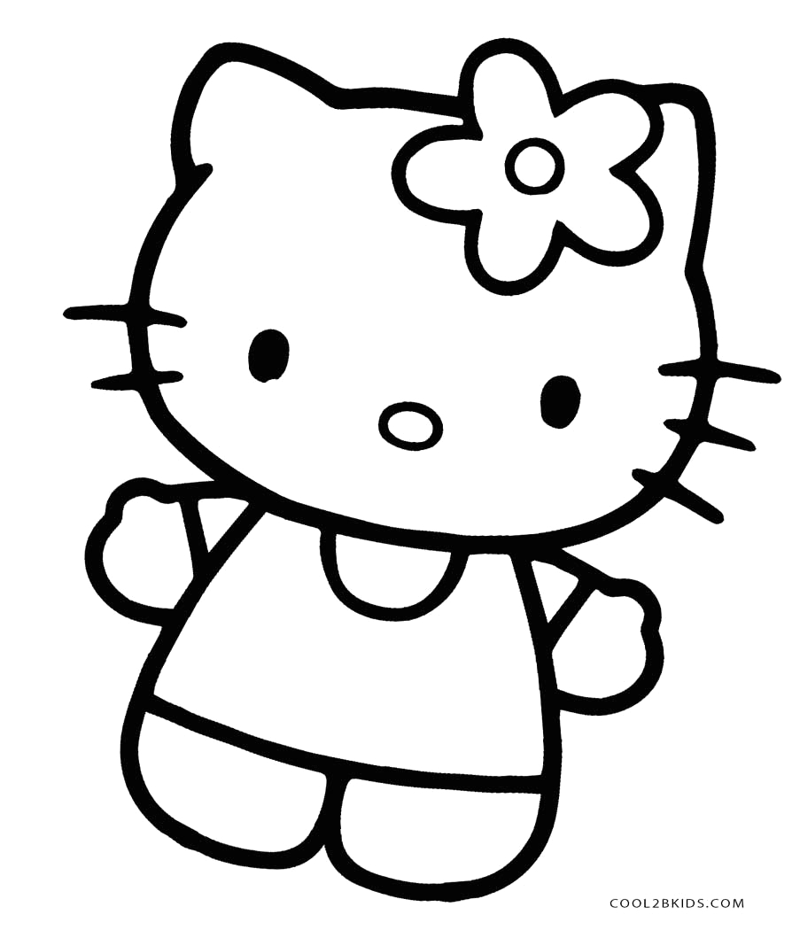 Hello Kitty Coloring Pages Online to Print Free Printable Hello Kitty Coloring Pages for Pages