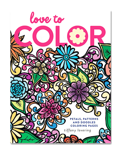 Love to Color Petals Patterns and Doodles Coloring Pages Love to Color Petals Patterns and Doodles Coloring Pages