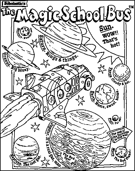 Magic School Bus Rides Again Coloring Pages 17 Best Images About Magic School Bus On Pinterest
