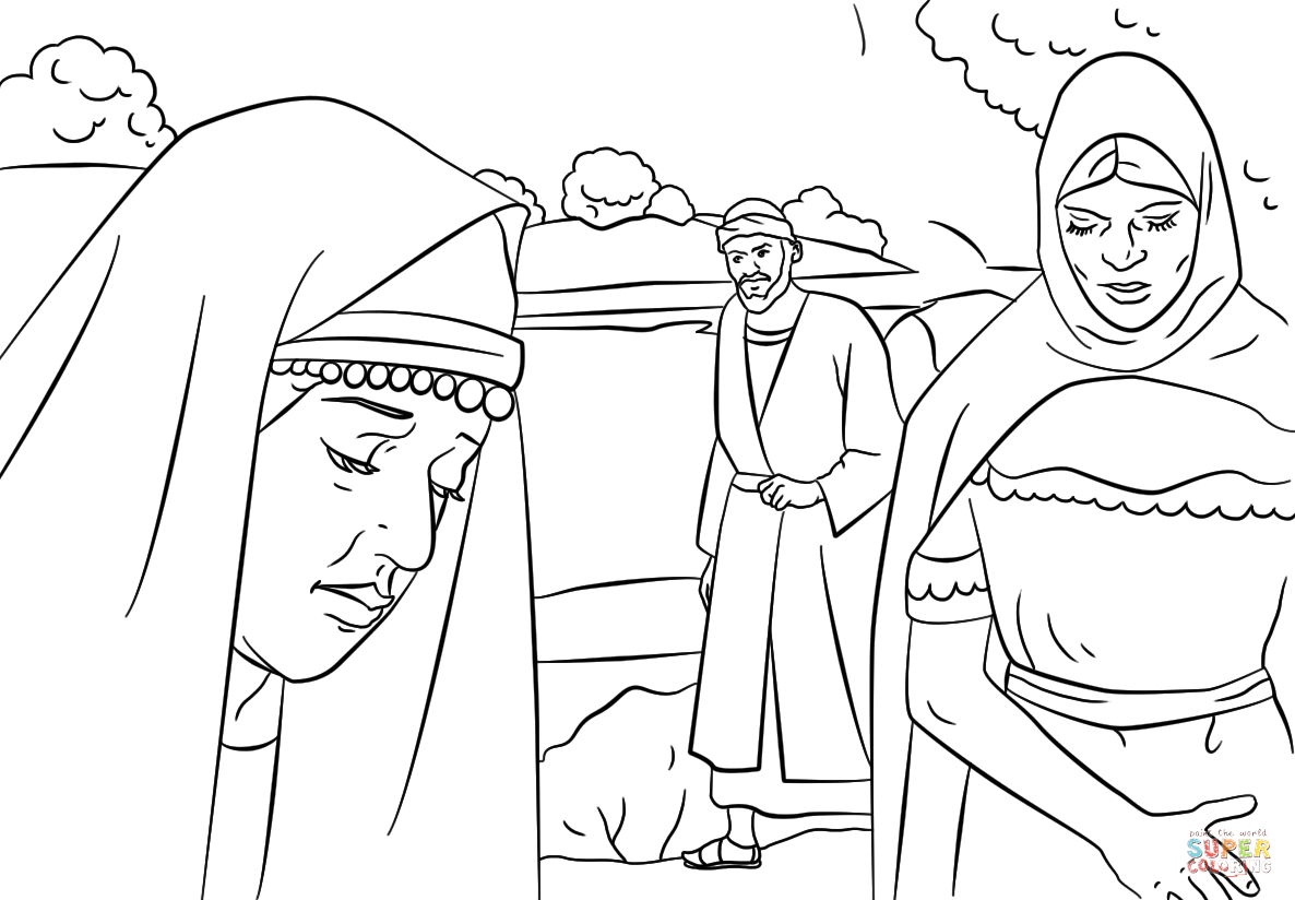 Paul Taught Lydia About Jesus Coloring Page Lydia and Paul Coloring Page