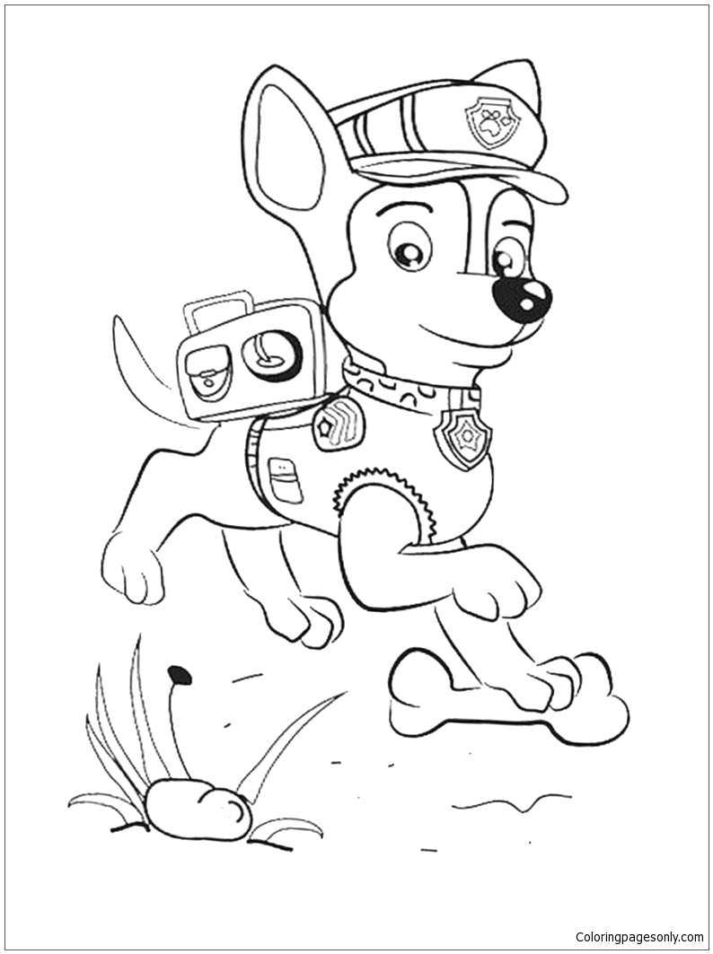chase from paw patrol 3