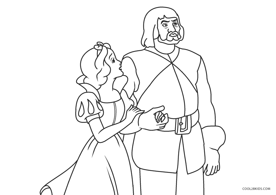 Snow White and the Huntsman Coloring Page Free Printable Snow White Coloring Pages for Kids