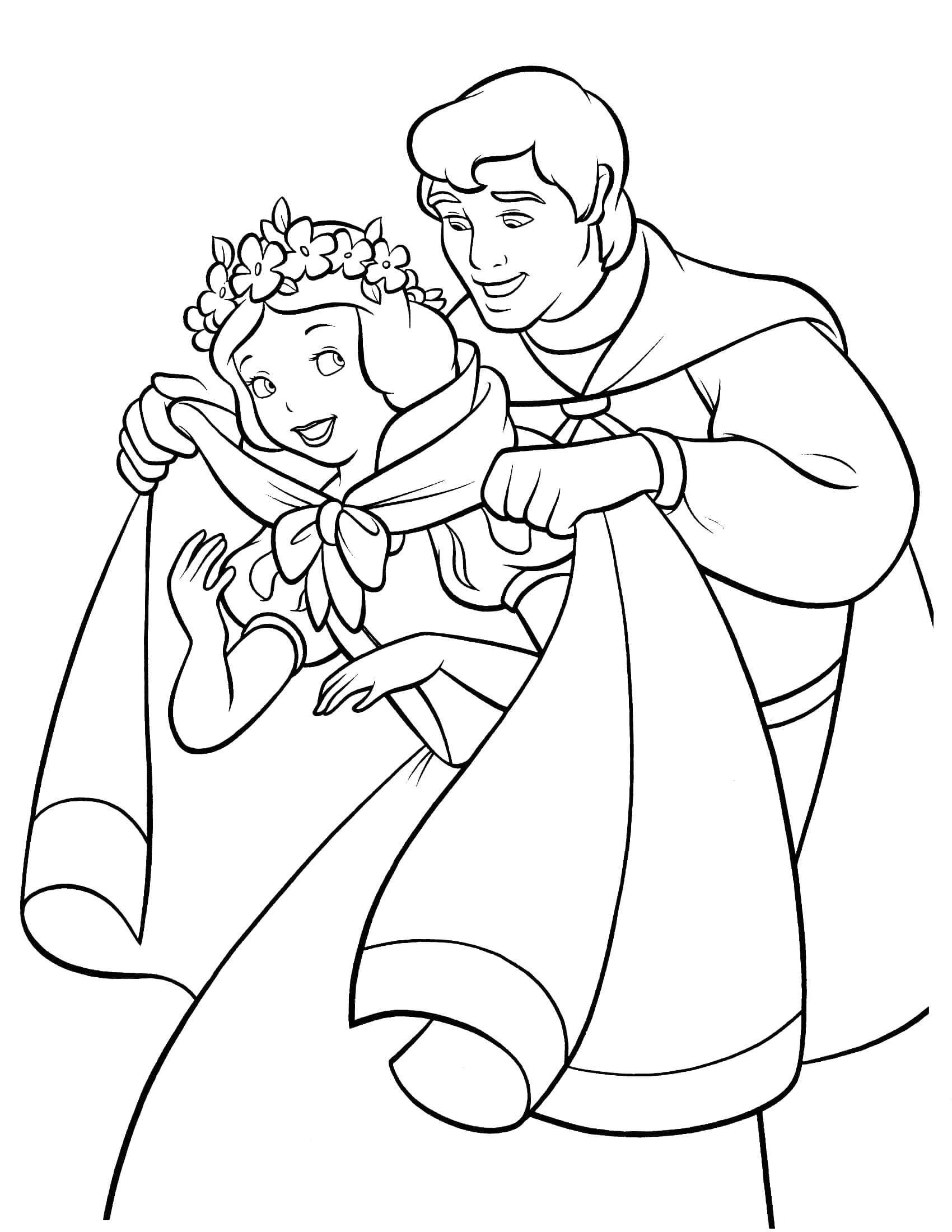 Snow White Coloring Pages Free to Print Snow White Coloring Pages Best Coloring Pages for Kids