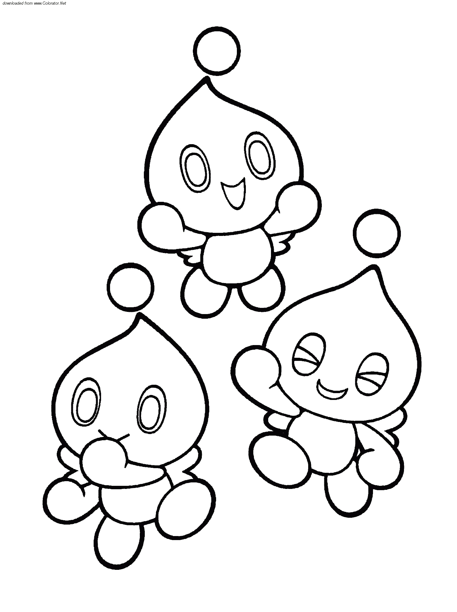 super sonic sonic chaos emeralds coloring pages