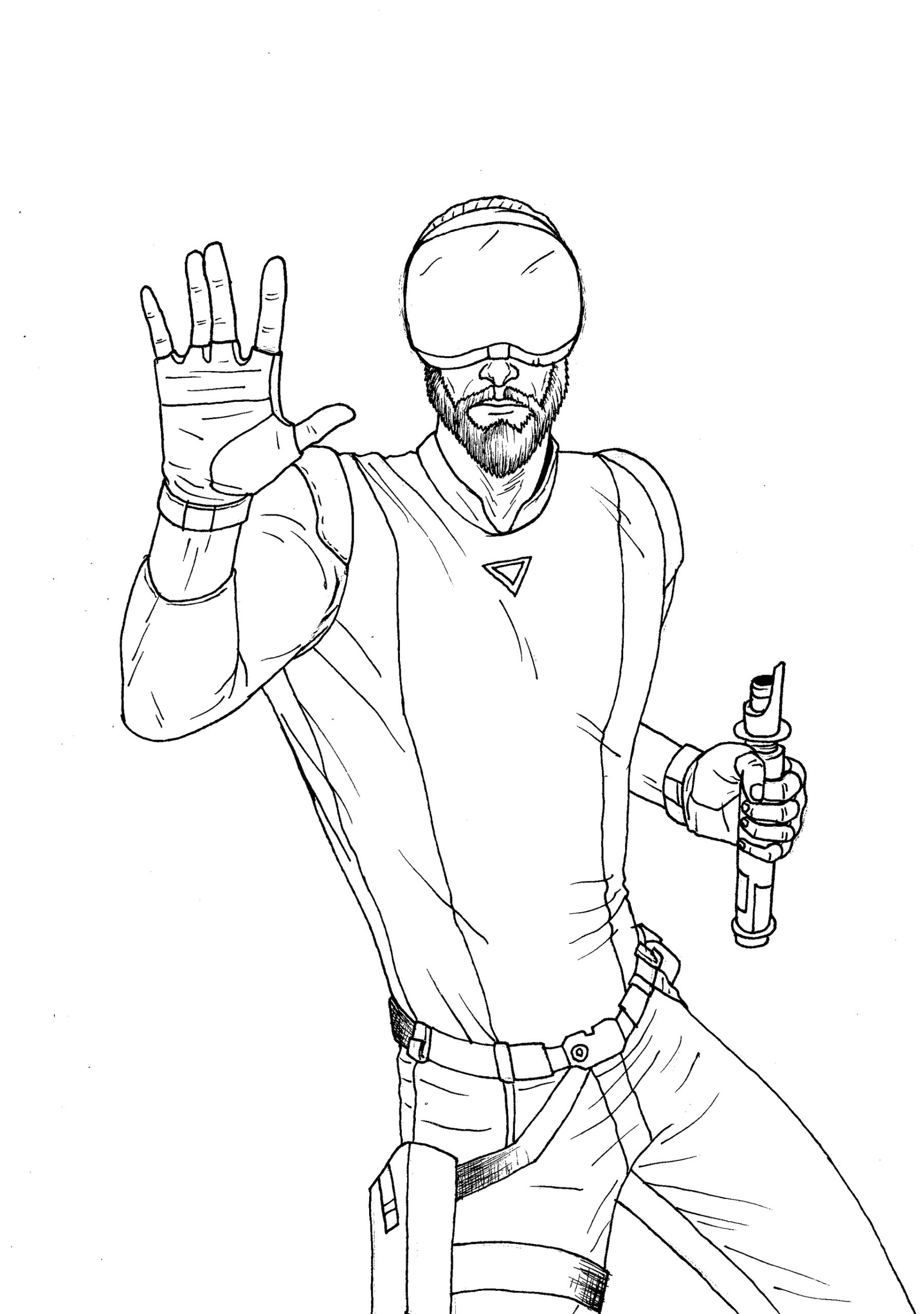 savage opress coloring pages