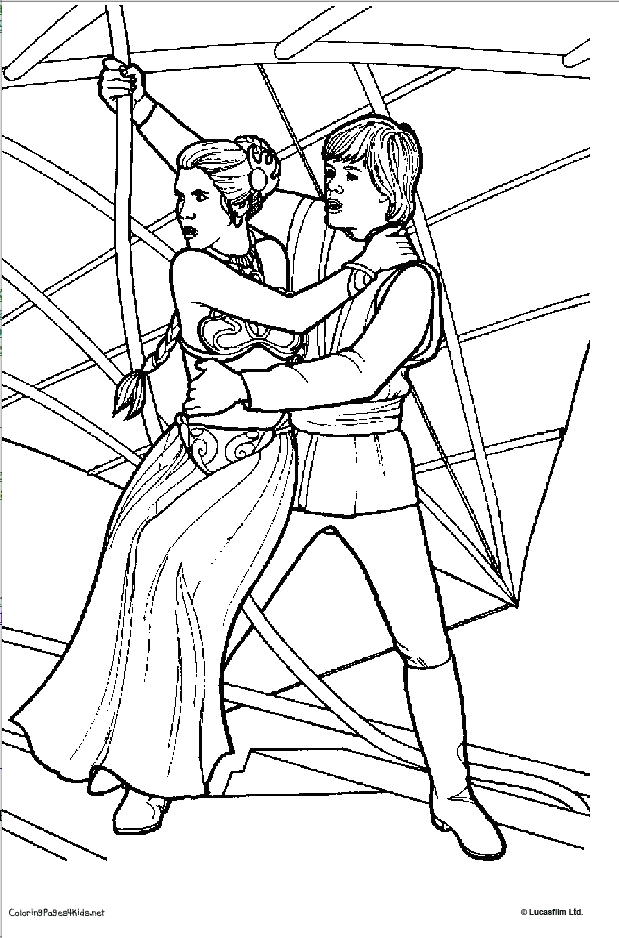 star wars revenge of the sith coloring pages