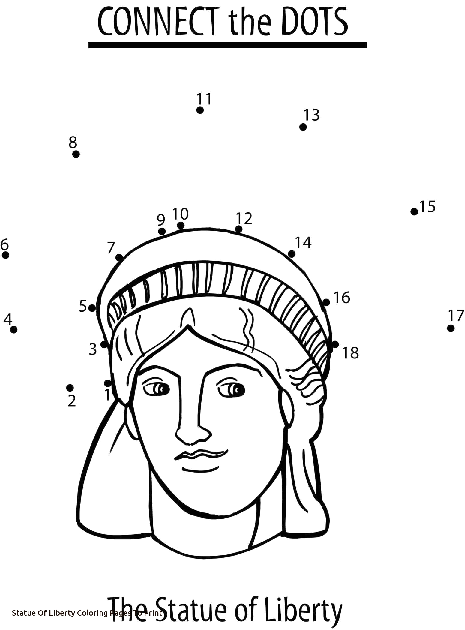 Statue Of Liberty Coloring Pages for Kindergarten Statue Liberty Drawing for Kids at Getdrawings