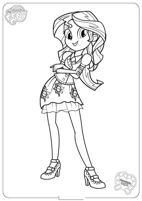 my little pony sunset shimmer character