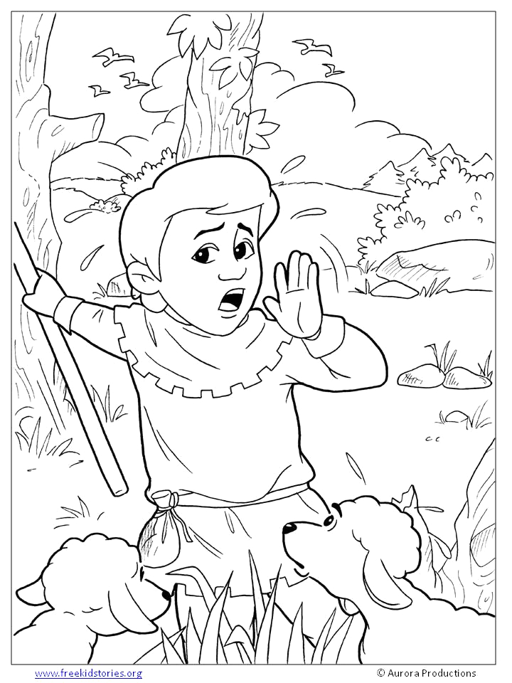 The Boy who Cried Wolf Coloring Page the Boy who Cried Wolf Coloring Pages Free Printable