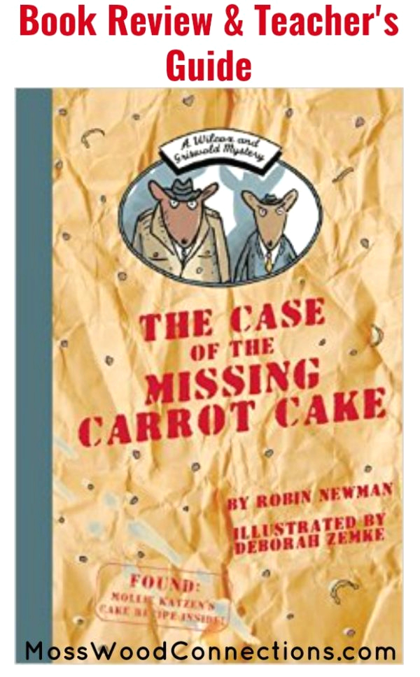 The Case Of the Missing Carrot Cake Coloring Page Wilcox and Griswold Mystery the Case Of the Missing