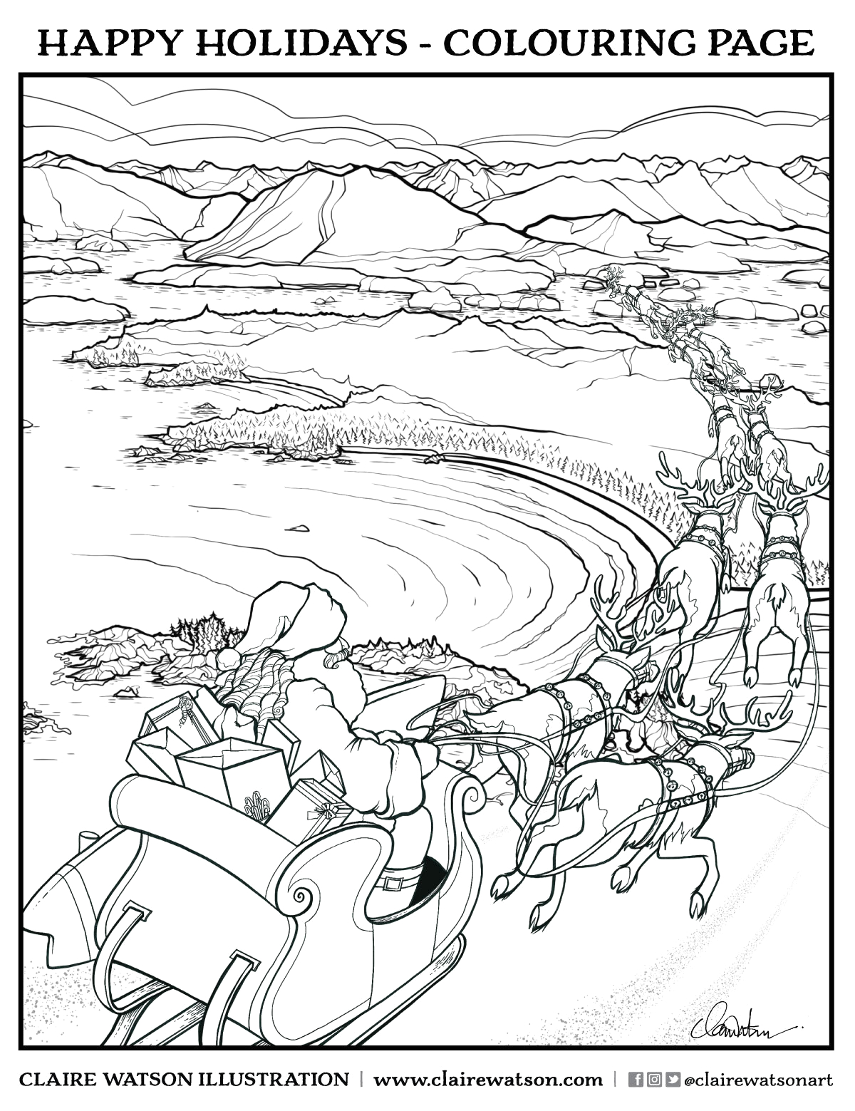 brave wilderness coloring pages