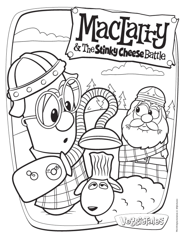 veggie tales coloring pages league of incredible ve ables