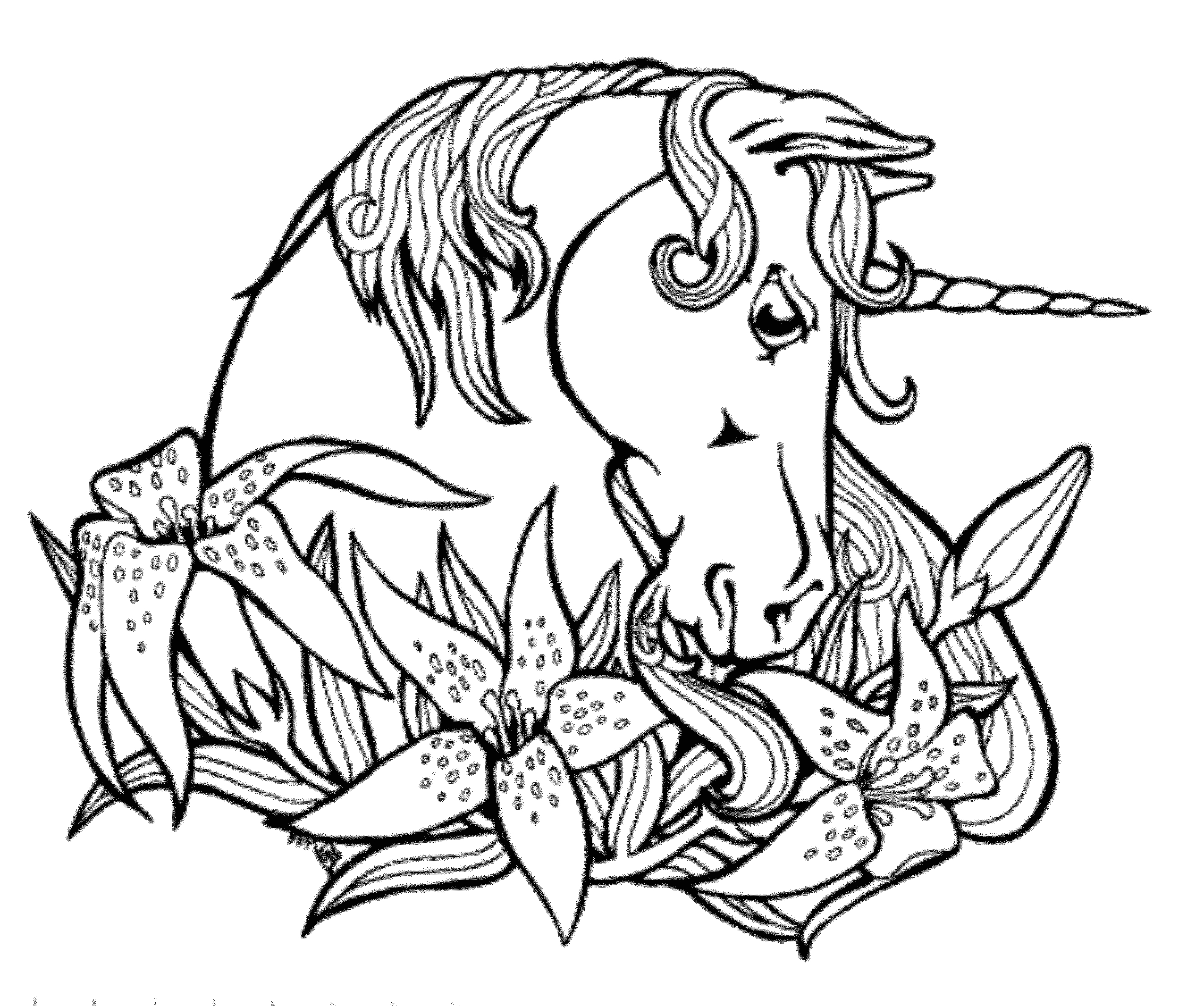 Unicorn Coloring Pages that You Can Print Print & Download Unicorn Coloring Pages for Children