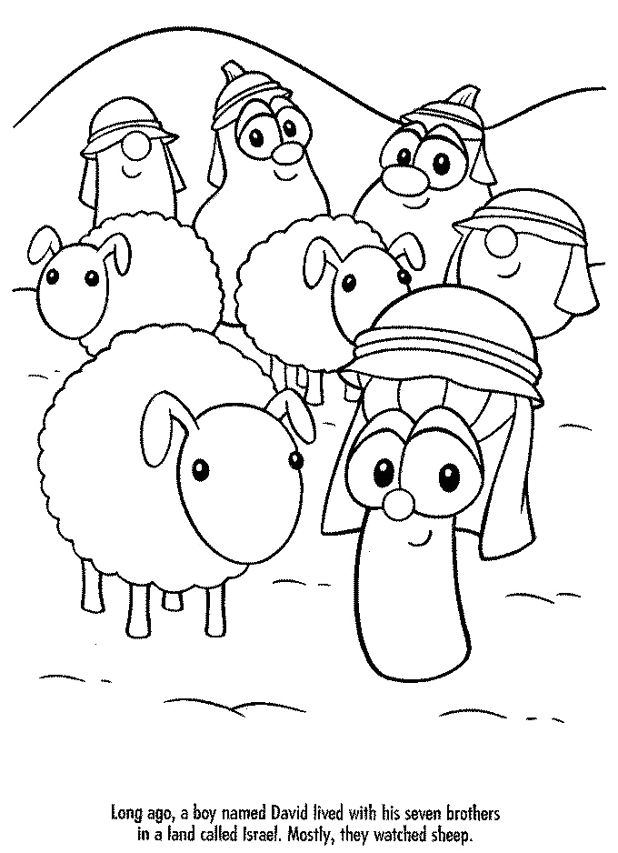 Veggietales Dave and the Giant Pickle Coloring Pages Veggietales Activity Dave and the Giant Pickle Coloring