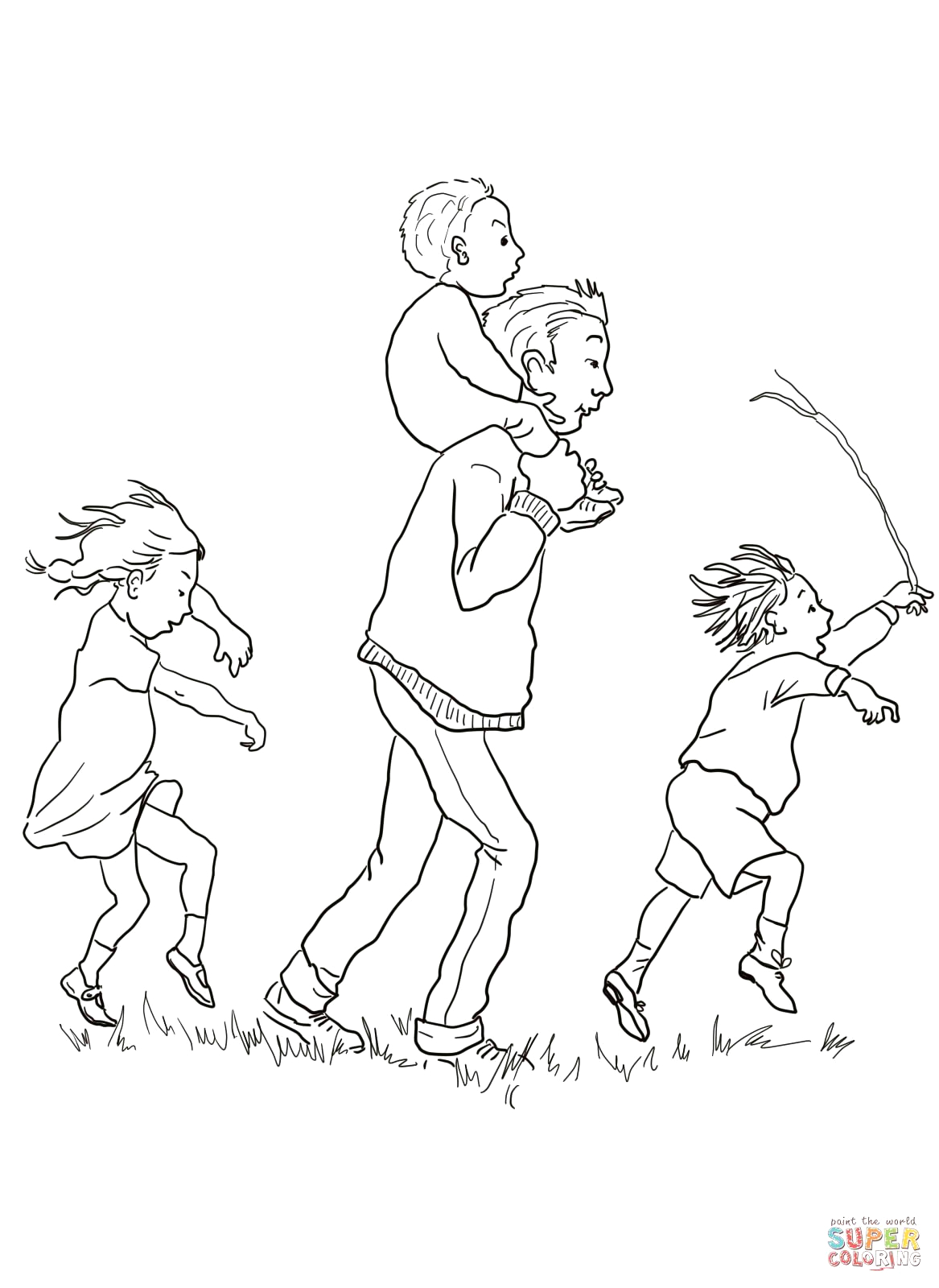 We Re Going On A Bear Hunt Printable Coloring Pages We Re Going On A Bear Hunt Coloring Page