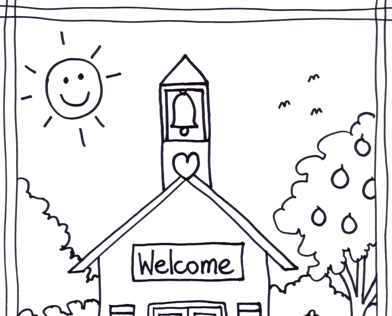 Welcome Back to Sunday School Coloring Pages top Wel E Back to Sunday School Coloring Pages