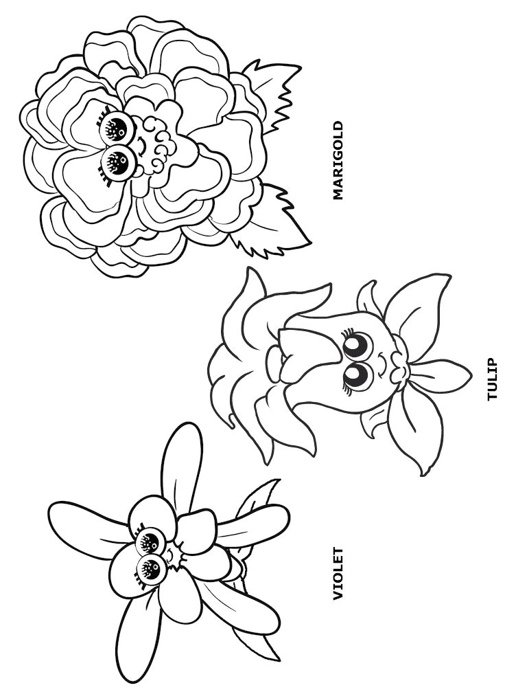 Welcome to the Daisy Flower Garden Coloring Pages More Flower Friends Puppets