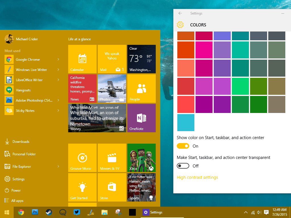 how to make the windows 10 start menu do what you want