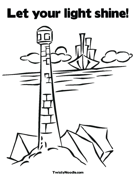 You are the Light Of the World Coloring Page Light the World Coloring Page at Getcolorings