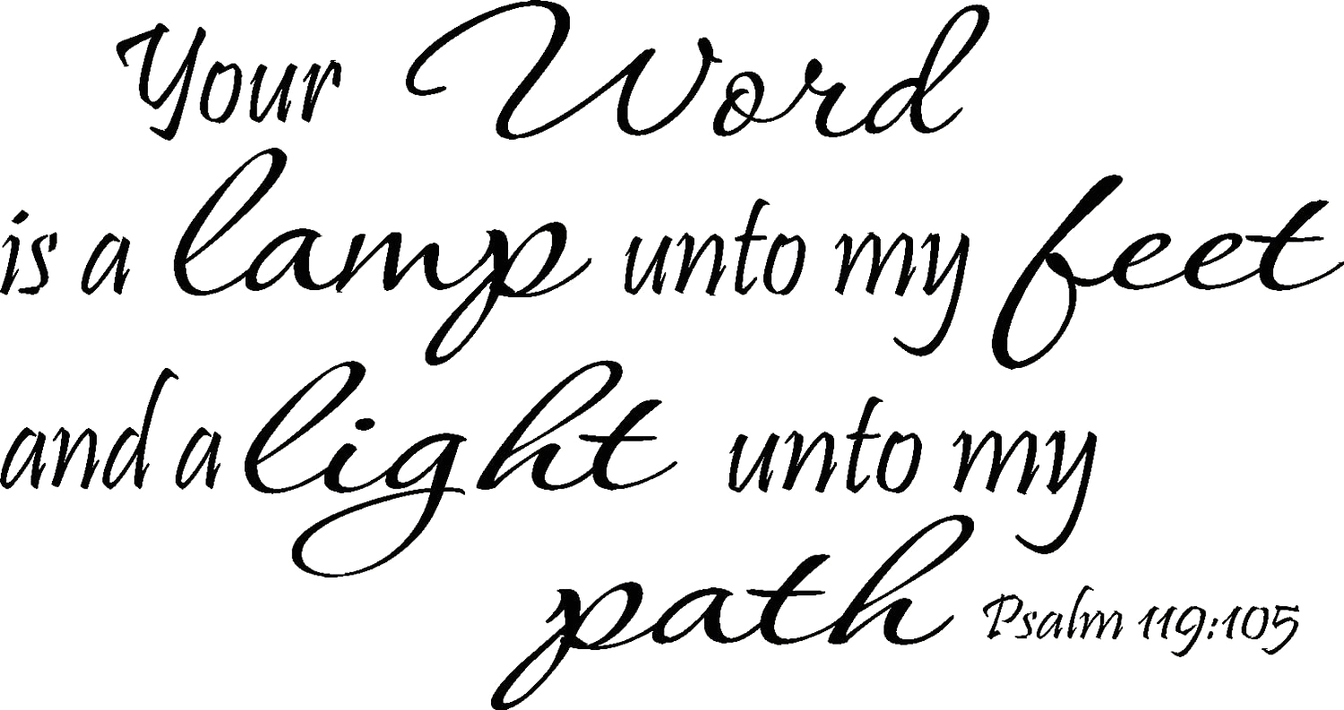 thy word is lamp unto my feet coloring