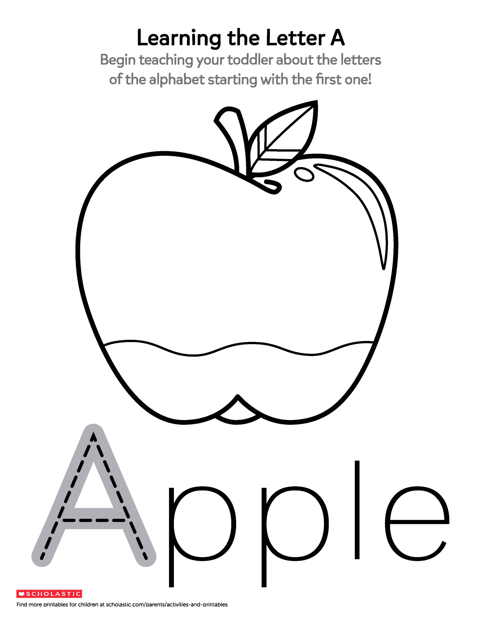 Alphabet Coloring Pages for 2 Year Olds Alphabet Coloring Pages for 2 Year Olds