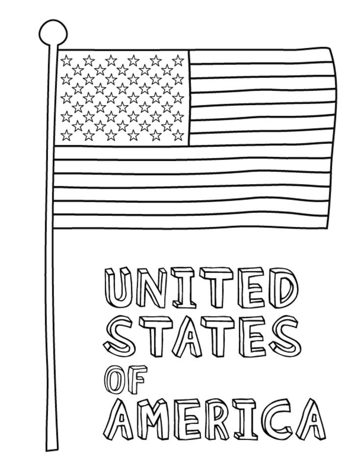 American Flag Coloring Page for First Grade Get This American Flag Coloring Pages for First Grade