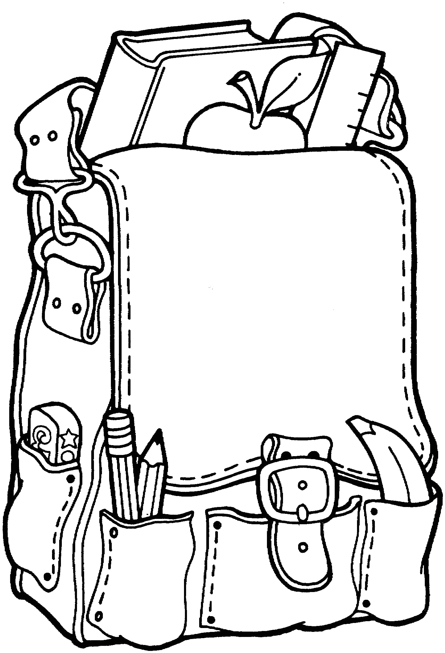 Back to School Coloring Pages for Kindergarten Coloring Pages Printable School