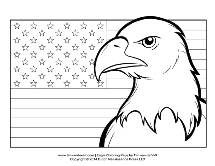 Bald Eagle with American Flag Coloring Page Perfect Patriotic Coloring Pages 91 for Coloring Pages for