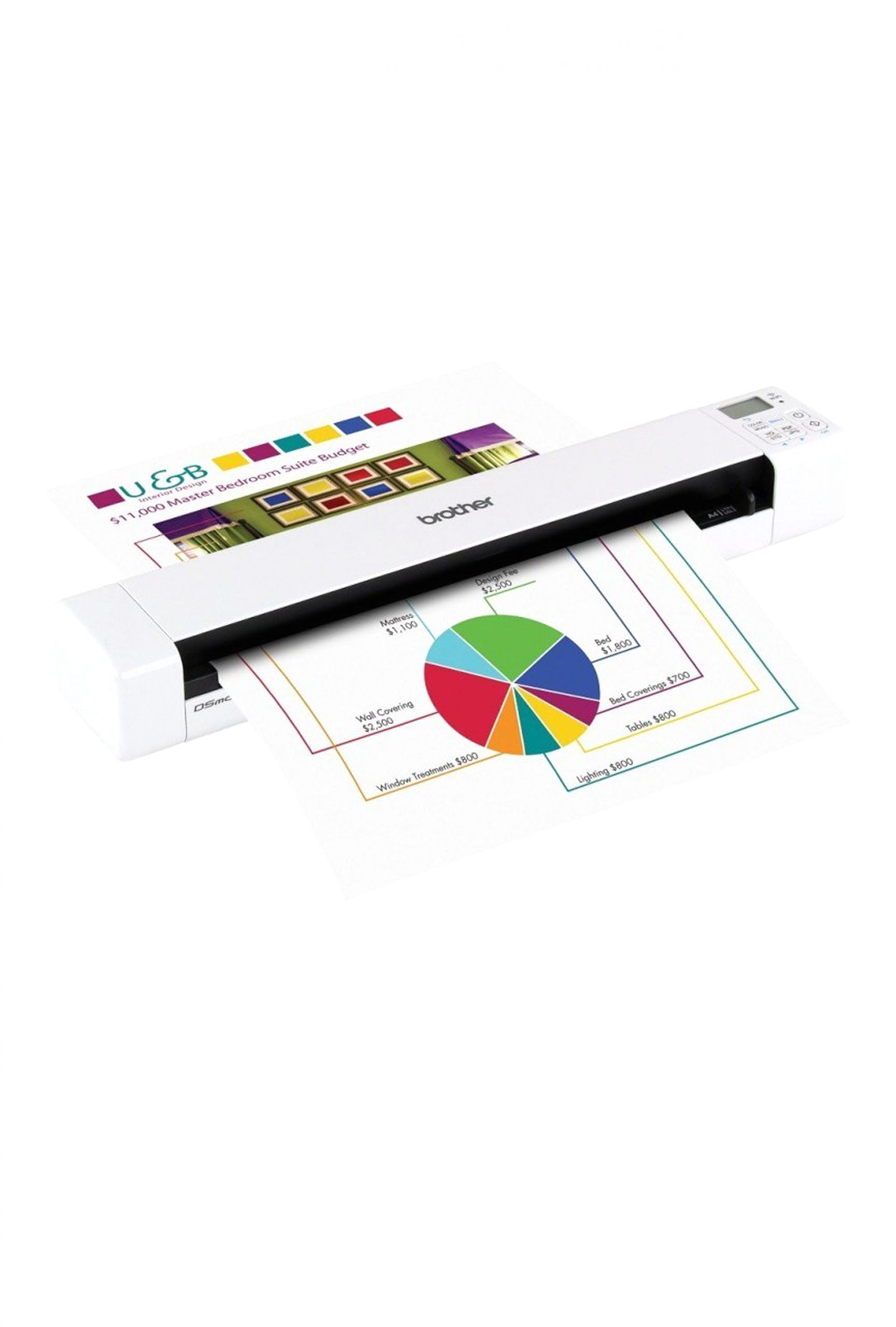 Brother Ds 820w Wireless Mobile Color Page Scanner Brother Ds 820w Wireless Mobile Color Page Scanner 8ppm