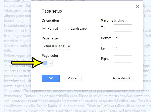 Can You Change the Page Color In Google Docs How to Change the Page Color In Google Docs Live2tech