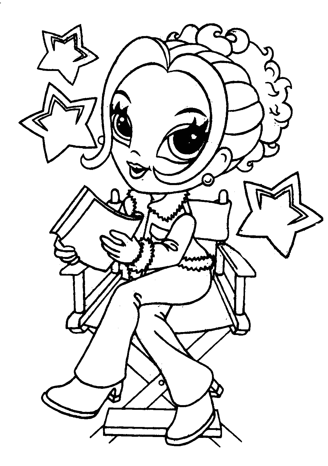 coloring pages for girls 6 2