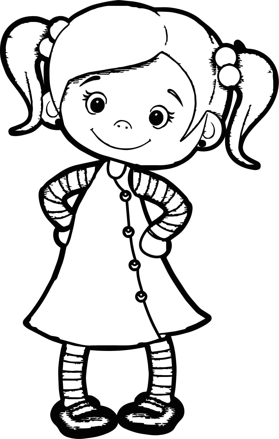 coloring pages for girls cute