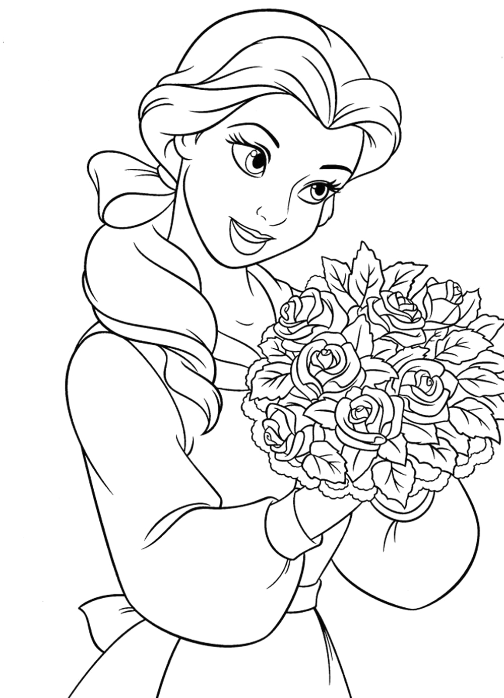 detailed coloring pages for girls