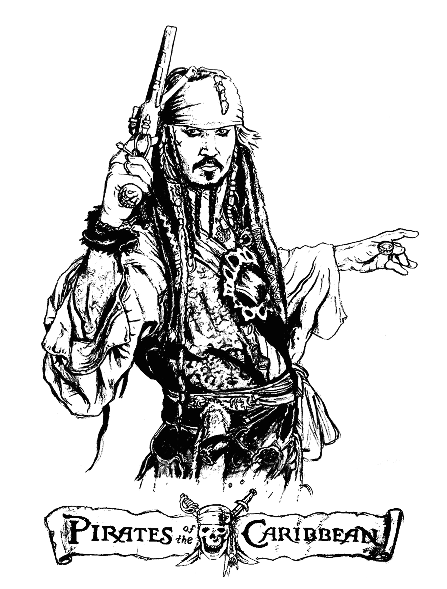 image=movie posters coloring page pirates of the caribbean 1