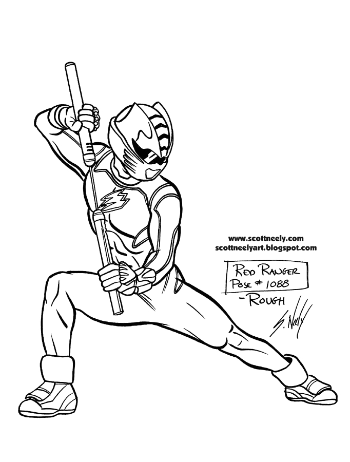 power rangers jungle fury coloring pages sketch templates