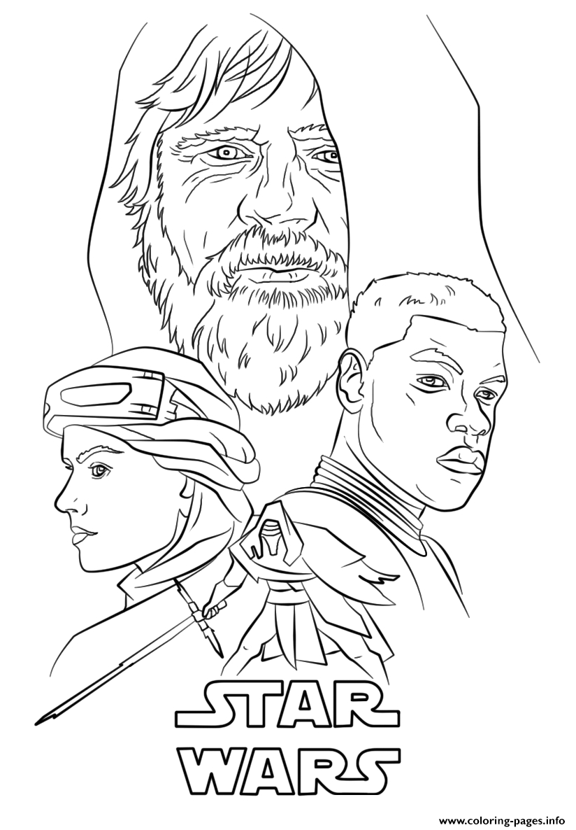 Coloring Pages Of Star Wars the force Awakens the force Awakens Poster Star Wars Episode Vii the force