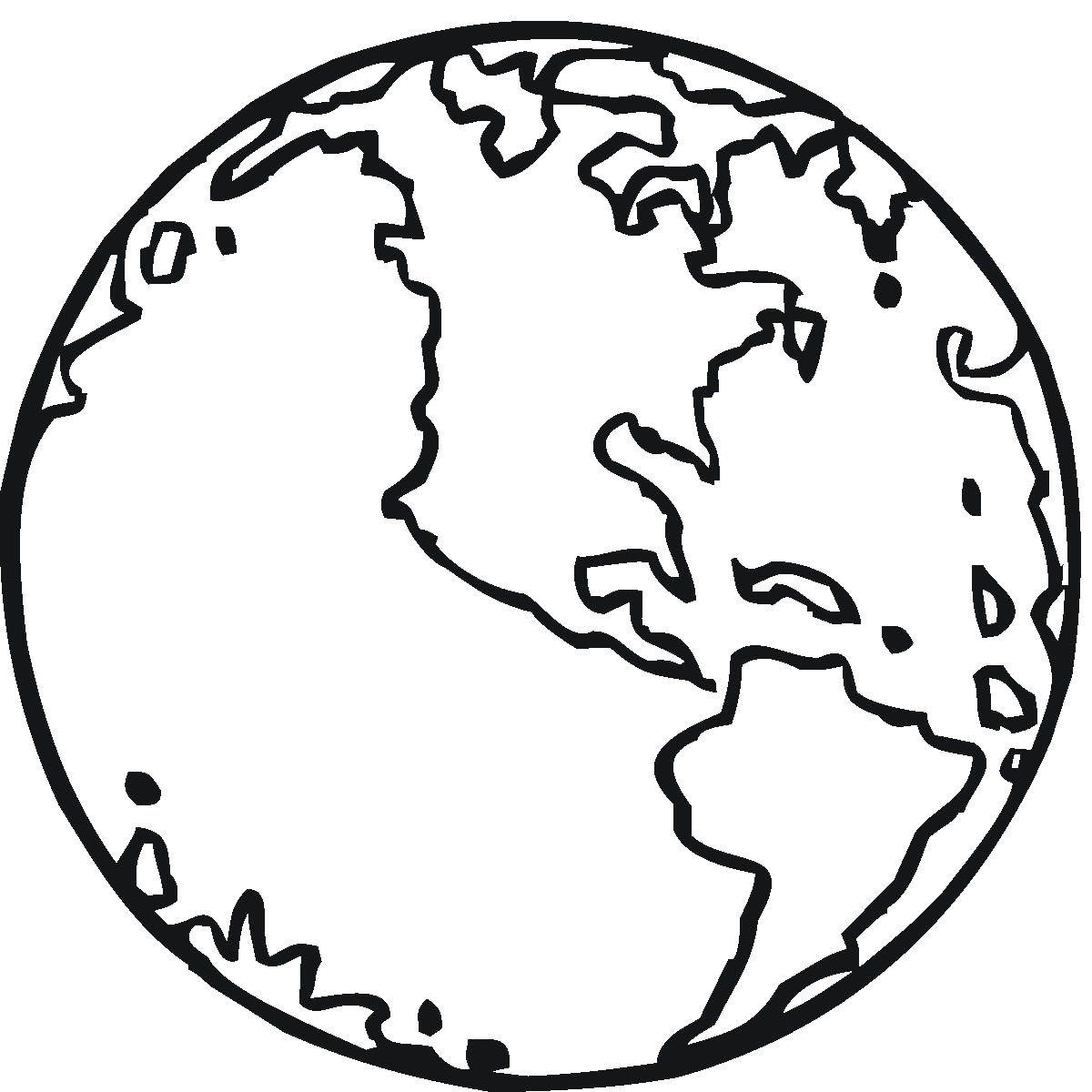 Coloring Pages Of the Earth to Print Free Printable Earth Coloring Pages for Kids