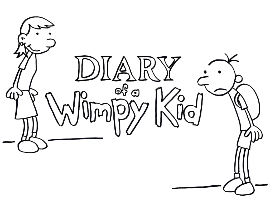 Diary Of A Wimpy Kid Coloring Pages to Print Diary A Wimpy Kid Wallpapers Wallpaper Cave