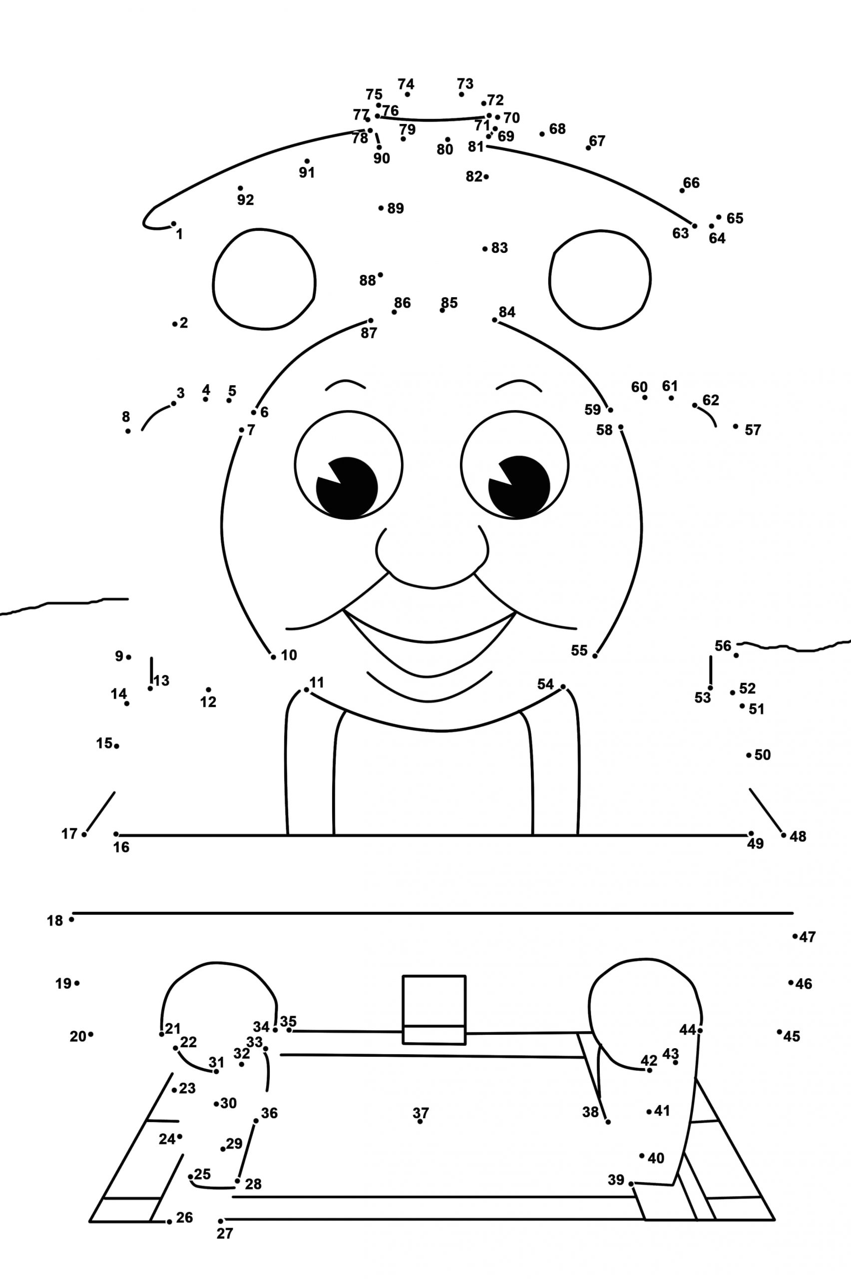 Dot to Dot Coloring Pages for Kids Dot to Dot Printables Best Coloring Pages for Kids