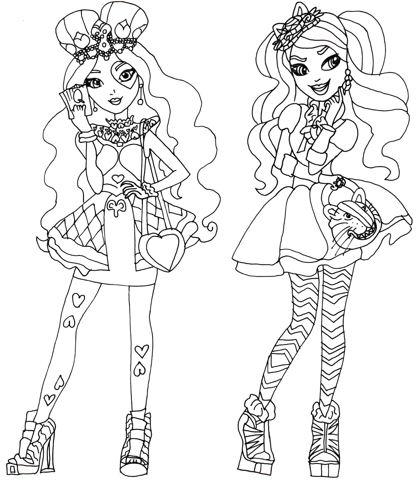 lizzie hearts and kitty cheshire ever